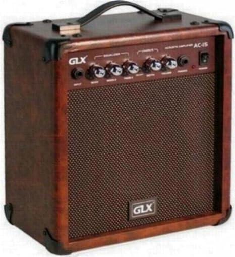 GLX AC de 15 Amplificador de Guitarra Acústica (15 W, 15 cm (6 ...