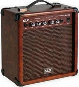 GLX AC de 15 Amplificador de Guitarra Acústica (15 W, 15 cm (6