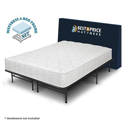 Amazon.com: Best Price Mattress 8-Inch Tight Top iCoil Spring ...