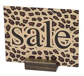 Amazon.com: Soporte para carteles – Bloque de madera de ...