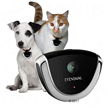 EYENIMAL Perro Gato Cuello Mascota Gadget de cámaras de vigilancia micrófono 4 GB Memoria Flash