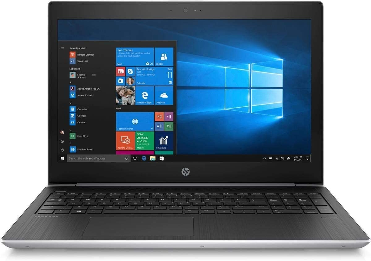 "HP ProBook 455 Laptop Dark Ash Silver (AMD A9-9420 2-Core, 8GB RAM, 256GB PCIe SSD, AMD Radeon R5, 15.6"" HD (1366x768), WiFi, Bluetooth, Webcam, 2xUSB 3.0, 1xHDMI, SD Card, Win 10 Pro)"