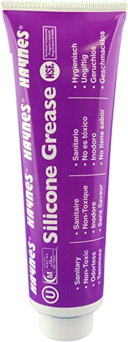 Food grade Silicone//Silicon grease for coffee machine O-ring seals gaskets HU