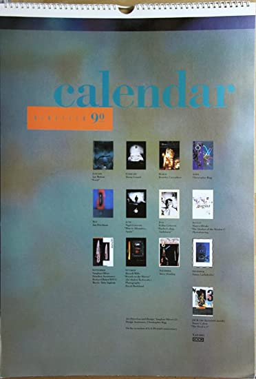 Amazon.com: 1990 4 AD Calendario: Office Products