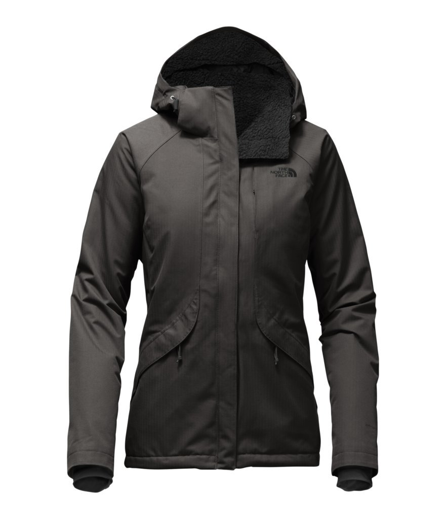 The North Face Women's Inlux Insulated Jacket - Asphalt Grey - S (Past Season)
