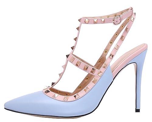MONICOCO 2015 - Zapatos de vestir para mujer, color, talla 35