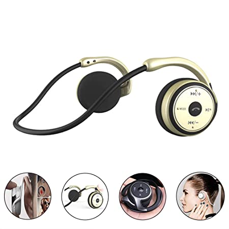 Auriculares Bluetooth, Auriculares de conducción ósea, Auriculares ...