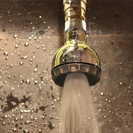 Amazon.com: Fixed Shower Head ABS Wall Mounted Showerhead Water ...