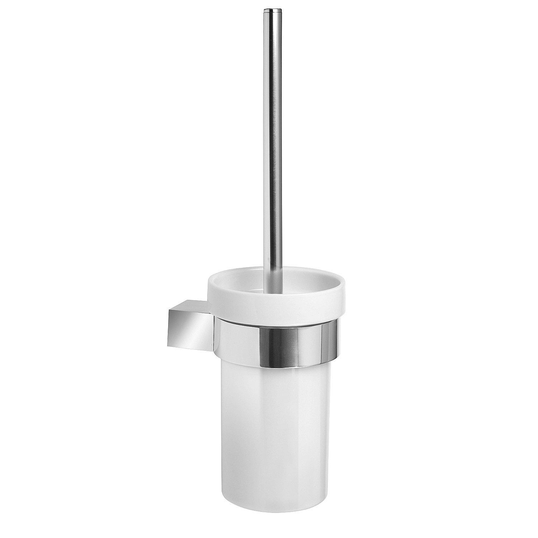 Sanixa TA6212800 Spazzolone WC in Alluminio di Alta qualit/à Serie Oslo