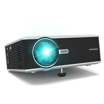 Proyector, Crenova XPE470 Proyector Video HD Home Cine 1200 ...