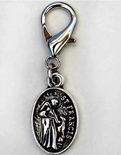 product image for Diva-Dog 'St Francis of Assisi' Dog Collar Charm