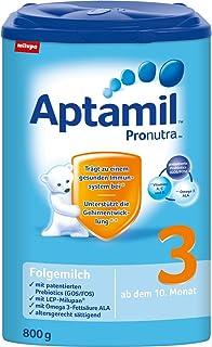 Aptamil 3 leche de continuación con Pronutra, 4-pack (4 x 800g)