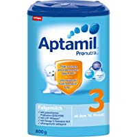 Aptamil 爱他美 3段婴幼儿奶粉 Pronutra亲源配方 适合10个月以上婴幼儿 4盒装 (4 x 800 g)