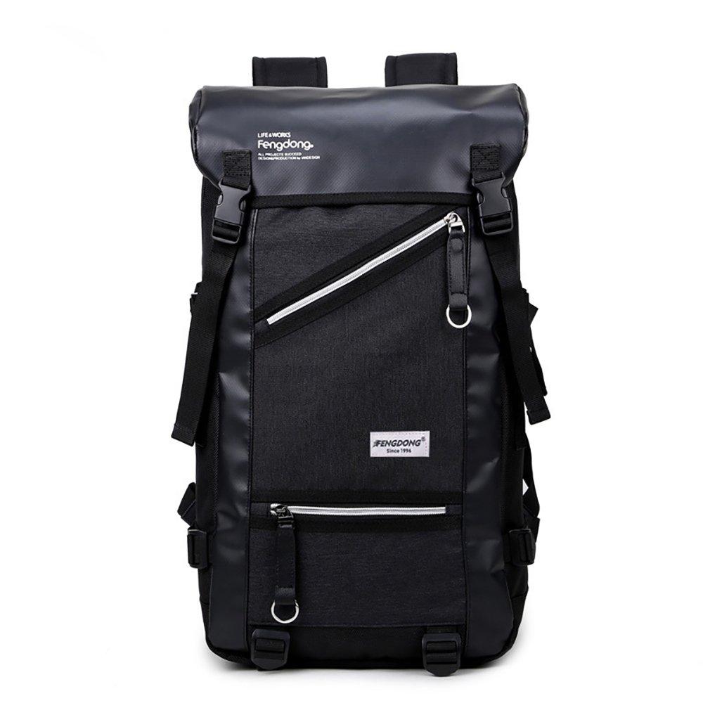 Limiz Zaino da viaggio per escursionismo outdoor da trekking a grande capacità (Colore   nero)