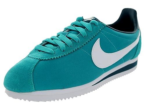 pretty nice 09808 3f07c 56f3b f4300  purchase nike womens classic cortez nylon turbo green white  nightshade classics shoe 7.5 women us c587e