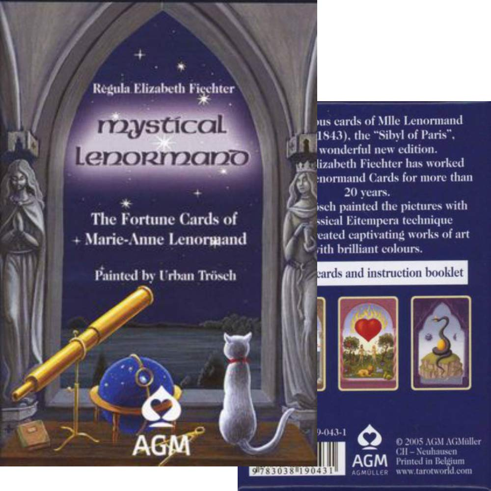 T0274 Japanese commentary paper with [Popular tarot cards] Mystical Tarot Le Norman (japan import) AGM / SWIZERLAND
