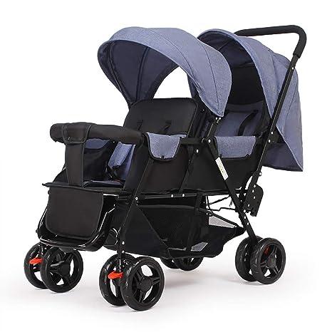 NAUY @ Carro Infantil Doble, Cochecito de bebé Gemelo Peso ...