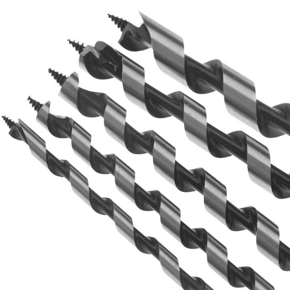 /12/mm broca helicoidal para madera broca Madera serpentinas Juego de brocas madera Juego de brocas helicoidal para madera caracol broca broca Herramientas de Edici/ón de madera 7/piezas Set 300/Mm 5/