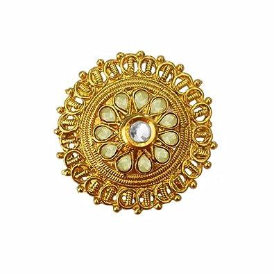 Buy Women Fashion Jewellery Fabulous Gold Green Maharani Style