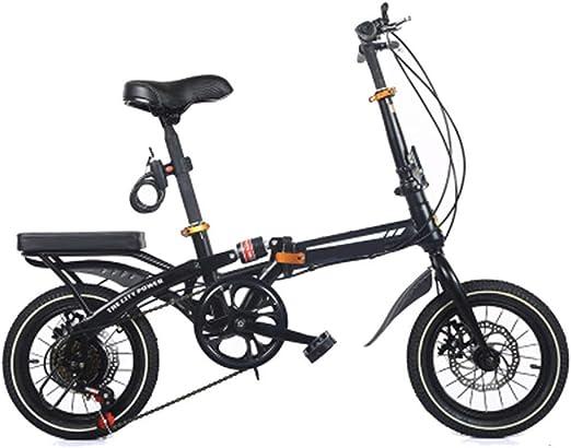 ZIXINGCHE Bike Foldaway - Amortiguador para Bicicleta Plegable ...
