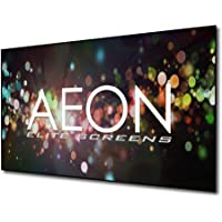 Elite Screens Aeon CineGrey 3D Series, 100-inch 16:9, Ambient Light Rejecting Fixed Frame Edge Free Projection Projector Screen, AR100DHD3