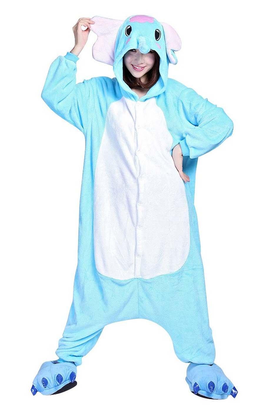 Maschio Femminile Adulto Unisex Natale Carnevale Halloween Cosplay Kigurumi Fumetto Animale Pigiama Costume Tuta Siamesi Abbigliamento Vestiti Di Ruolo Giochi pagliaccetto