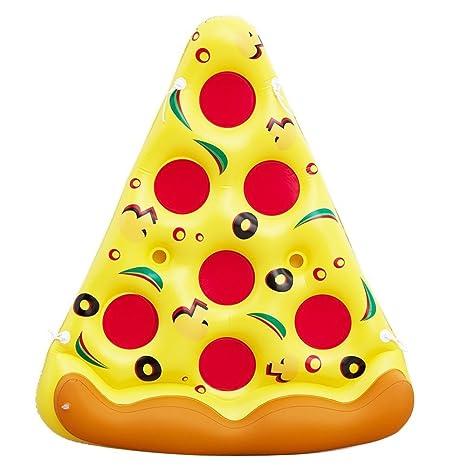 Hung Kai Pizza hinchable gigante de PVC, para piscina al aire ...