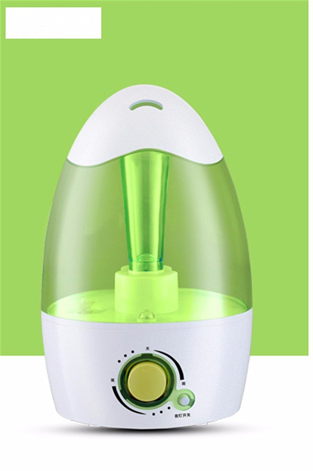 DIDIDD Humidifier mini home ultra - quiet bedroom office humidifier,Green