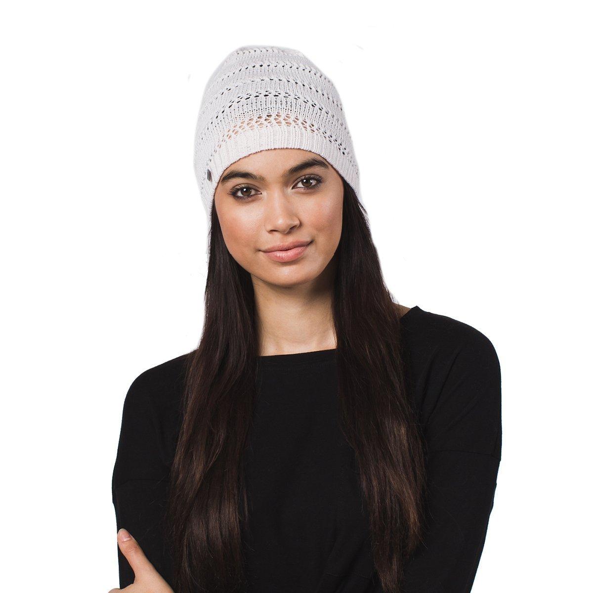 206a6f3d9cf Krochet Kids Fair Trade Ali Pale Pink Beanie Hat at Amazon Women s Clothing  store