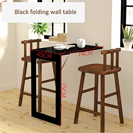 Koovin Table Murale Rabattable Table A Manger Invisible Table De