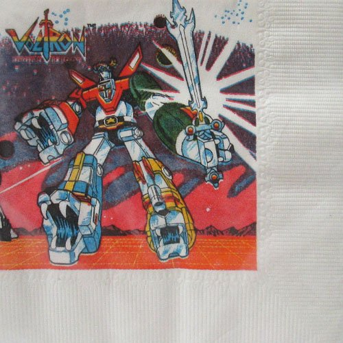 Vintage Voltron Small Napkins (16ct)