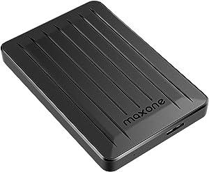 320GB External Hard Drive - Maxone Upgrade 2.5'' Portable HDD USB 3.0 for PC, Laptop, Mac, Xbox one, PS4, Chromebook, Smart TV - Black