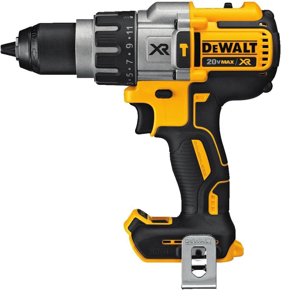 DEWALT 20V MAX XR Hammer Drill, Brushless, 3-Speed