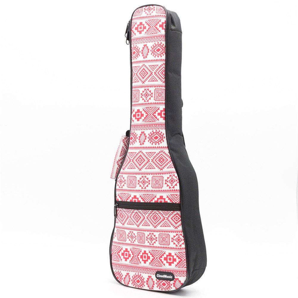 cloudmusic étnico Nacional ukelele funda color rojo bolsa de ...