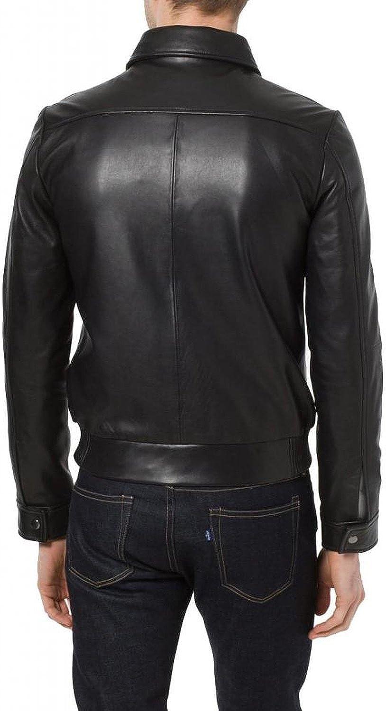 1501278 Black, Aviator Jacket Laverapelle Mens Genuine Cowhide Leather Jacket