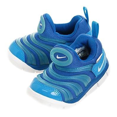 3fb536aa7c9c Nike Kinder Sneaker Dynamo Free Slipper Halbschuh Unisex Blau ...