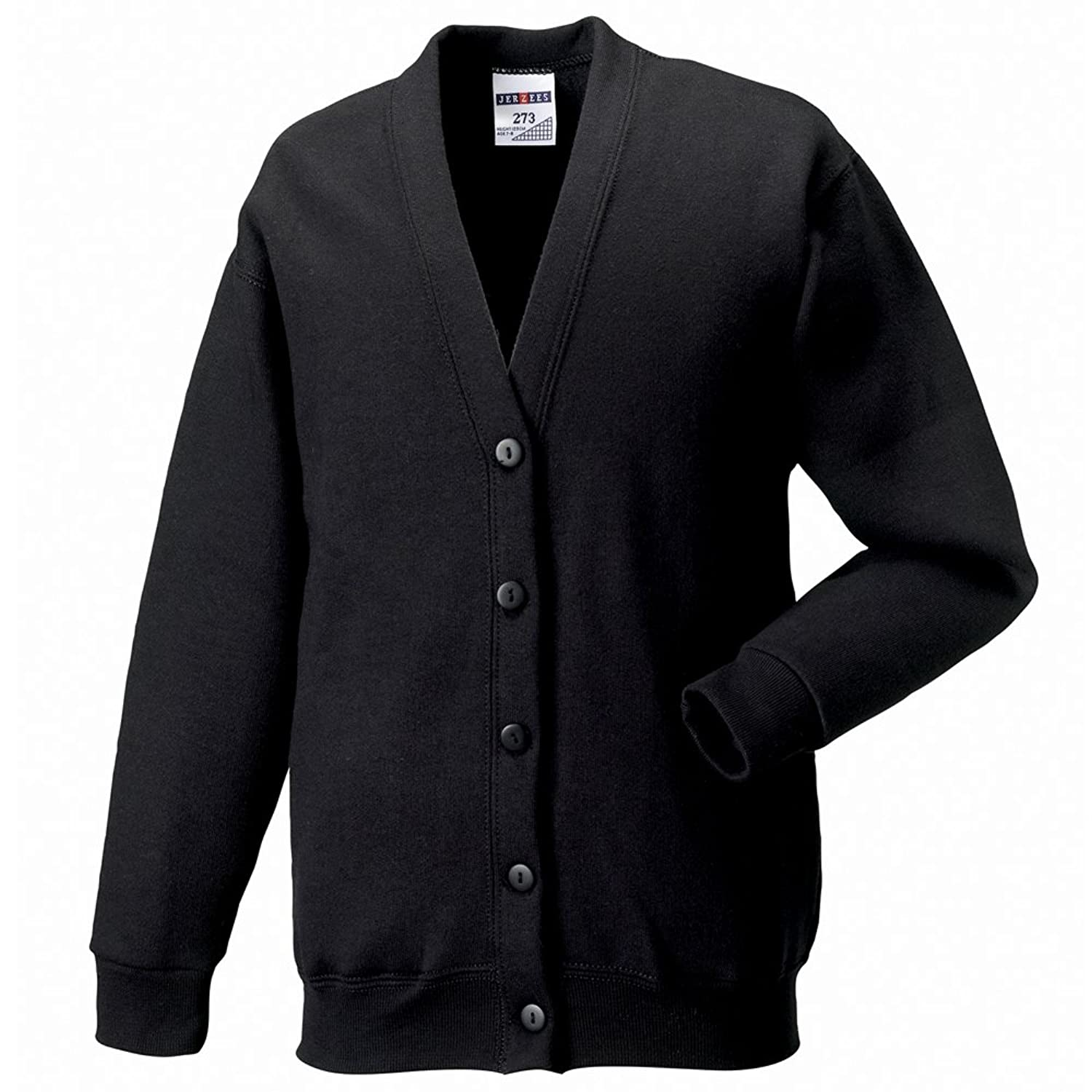 Jerzees mens 8 oz. NuBlend® 50/50 Cardigan (773M) at Amazon Men's ...