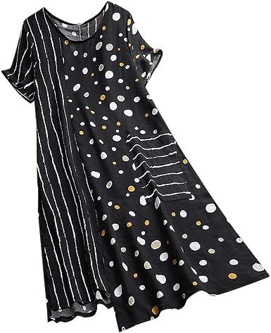 Fubotevic Mens Long Sleeve Stripe Print Casual Slim Button