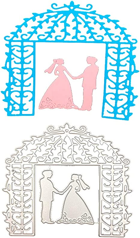 DIY Bride Groom Wedding Die Cutting Dies Stencils Scrapbooking Card Paper Craft
