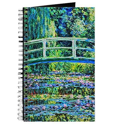 (CafePress Monet - Water Lily Pond Spiral Bound Journal Notebook, Personal Diary, Task Journal)