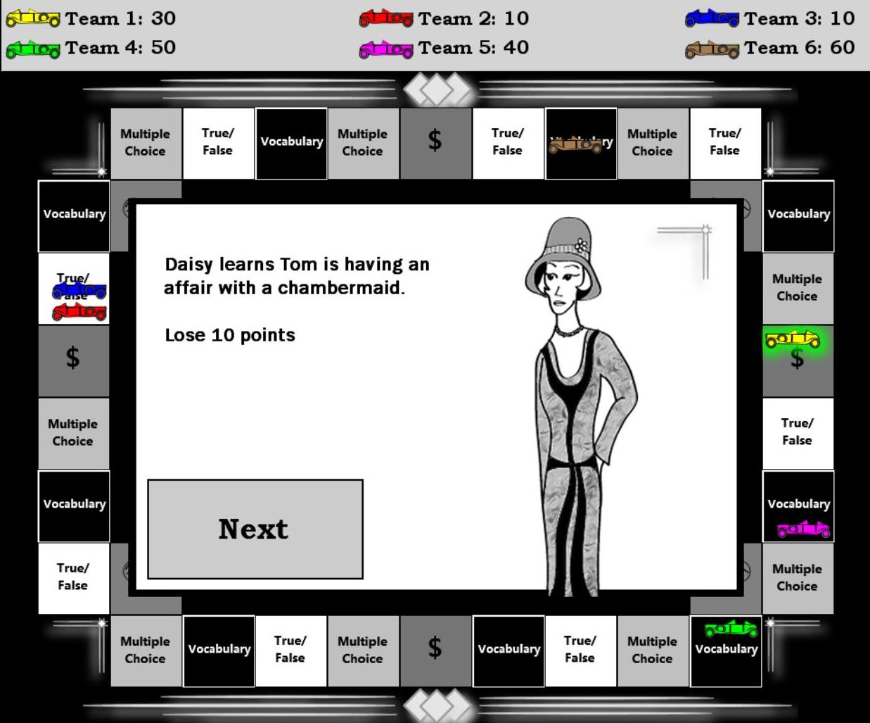 the great game Through a combination of challenges, chance encounters, geo-cache clues,  puzzles and augmented reality scenarios, the great game tests.