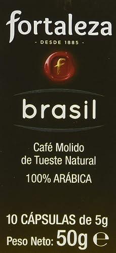 Café FORTALEZA - Cápsulas de café de Brasil Compatibles con ...