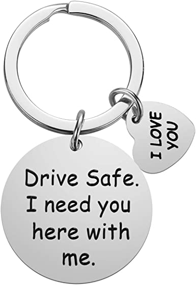 Drive Keychain Boyfriend Gifts for Women Men I Need You Here with Me Birthday Valentines Day Gifts