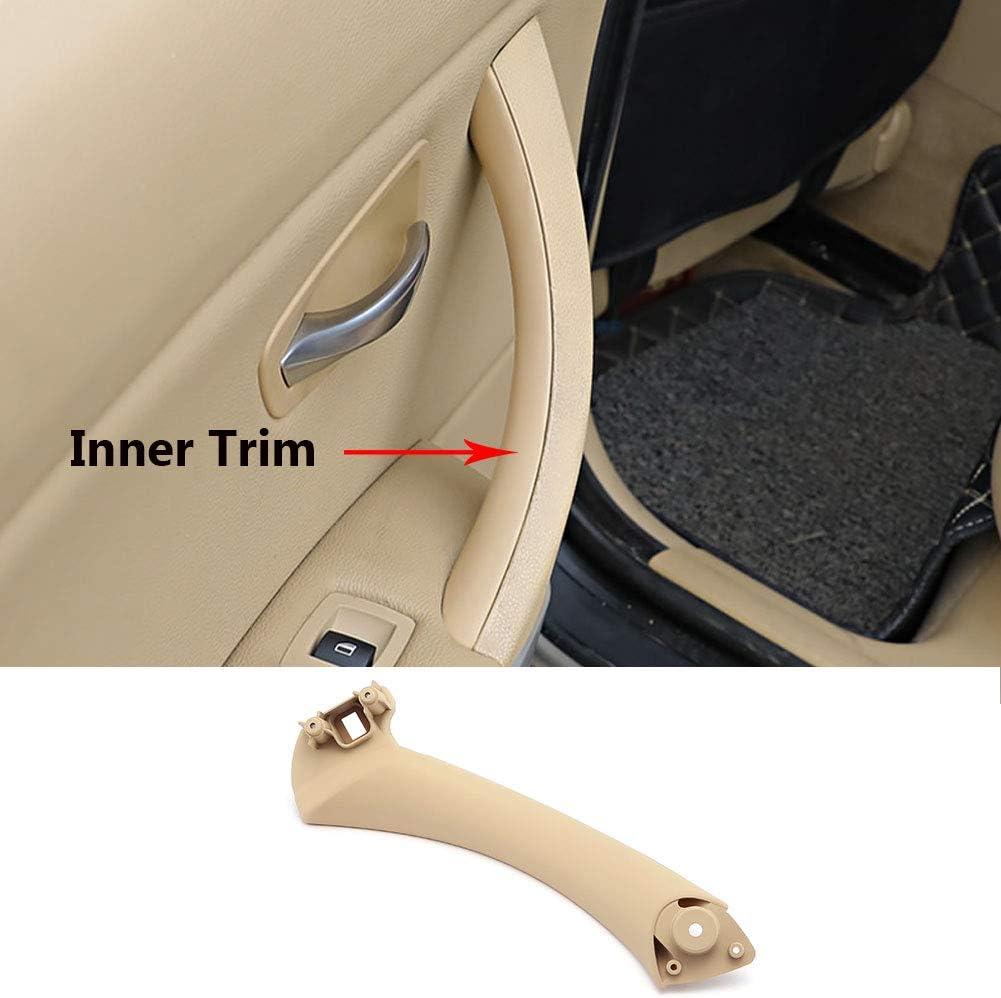 Fits:BMW 323 325 328 330 335 Right Front//Right Rear Door Handle Inner Door Support Bracket Passenger Side Door Panel Handle Jaronx for BMW 3 Series E90//E91 Door Pull Handle