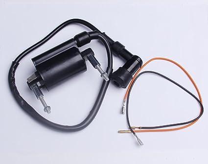 amazon com: new ignition coil fits kawasaki bayou 300 klf300 86-04 atv  1986-2004: automotive