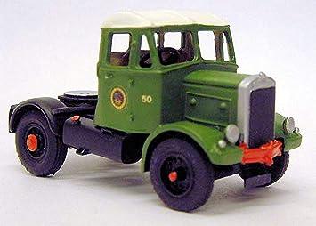 Langley Models Scammell tractor 15/20LA unidad 1940 camión / escala OO sin pintar Kit