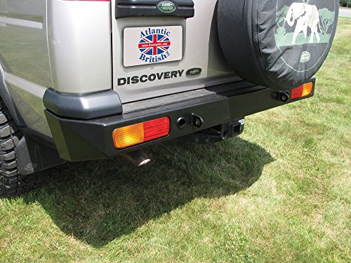 Land Rover DA5646 Heavy-Duty Rear Steel Bumper for Discovery 2 - Land Rover Discovery Part