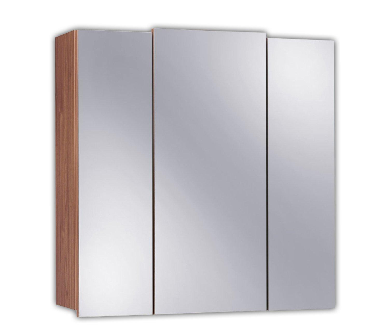 Posseik 5484–78 armoire 3 portes - 68 x 71 x 20 cm-imitation noyer