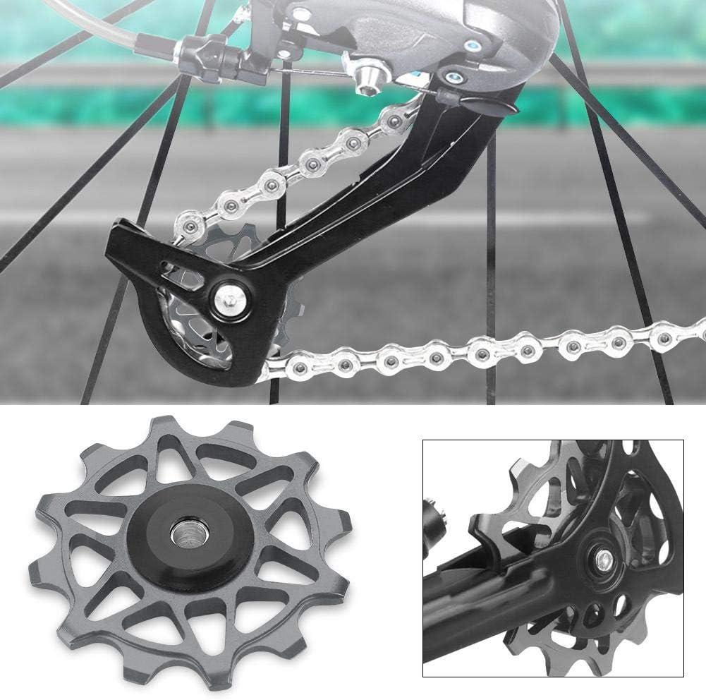 VGEBY1 Rear Derailleur Pulleys Bicycle Rear Derailleur Pulley Guide Wheel 12T Bearing Jockey Wheel Rear Kit Pair