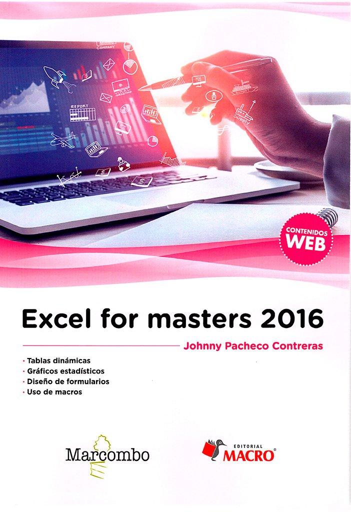 Read Online Excel for masters 2016 pdf epub